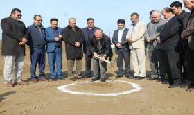 آغاز عملیات ساخت سه کورت اسکواش ساحلی دریای خزر در نکا