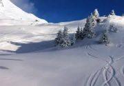 سفیدپوشی برف زمستانی در ارتفاعات مازندران