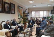 در دیدار با سرکنسول ایران در اردبیل عراق : استاندارمازندران برحضور تجار در اقلیم کردستان تاکید کرد