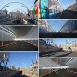 افتتاح نخستین تونل شهری در مازندران