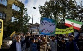 راهپیمایی یوم الله ۱۳ آبان در مازندران
